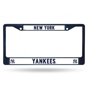New York Yankees Anodized Blue License Plate Frame