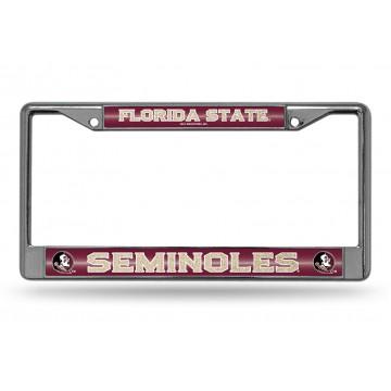 Florida State Seminoles Glitter Chrome License Plate Frame