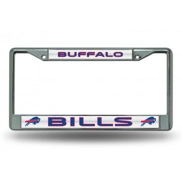 Buffalo Bills Glitter Chrome License Plate Frame