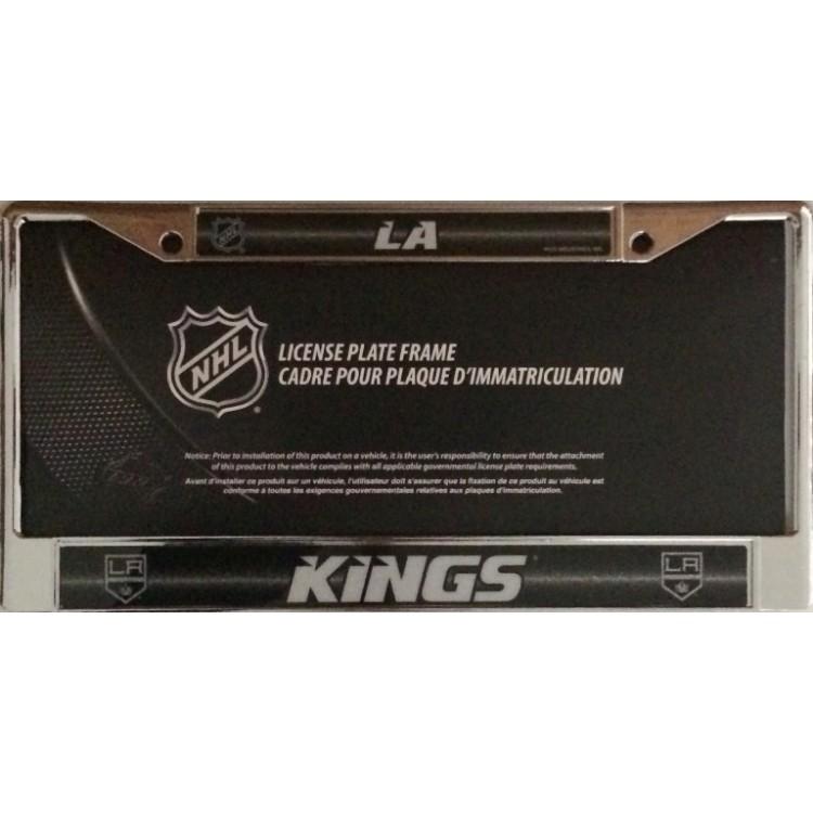 Los Angeles Kings Glitter Chrome License Plate Frame