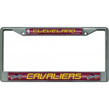 Cleveland Cavaliers Glitter Chrome License Plate Frame