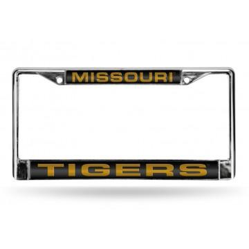 Missouri Tigers Laser Chrome License Plate Frame