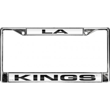 L.A. Kings Laser Chrome License Plate Frame