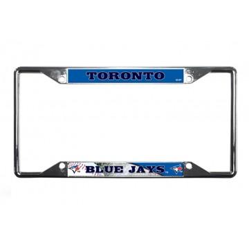 Toronto Blue Jays EZ View Chrome License Plate Frame