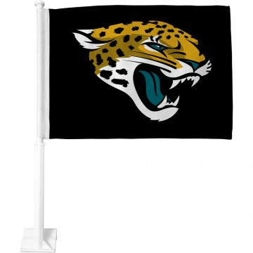 Jacksonville Jaguars Black Car Flag