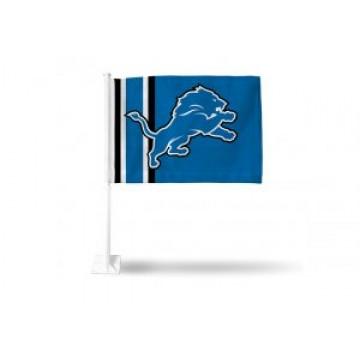 Detroit Lions Car Flag