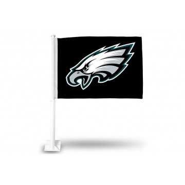 Philadelphia Eagles Black Car Flag