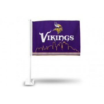 Minnesota Vikings Car Flag