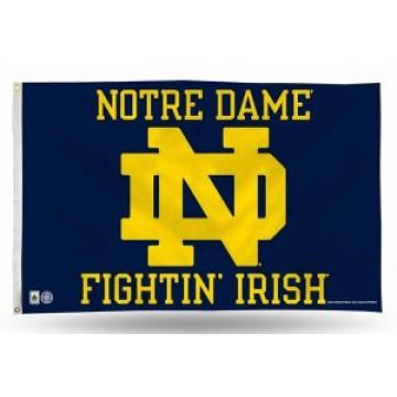 Notre Dame Fighting Irish Banner Flag