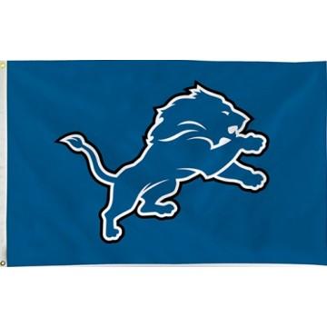 Detroit Lions Banner Flag