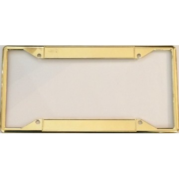 Every State Zinc Alloy Gold Double Panel License Plate Frame
