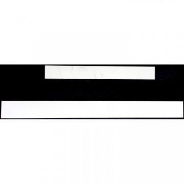 White Dye Sublimation License Plate Frame Strips