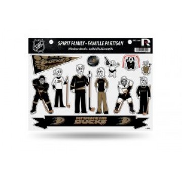 Anaheim Ducks Family Decal Set