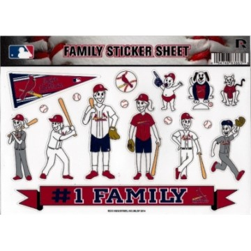 St. Louis Cardinals Family Spirit Decal Set