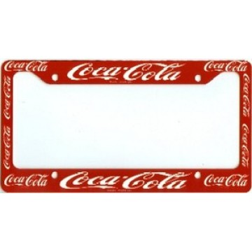Coca-Cola License Plate Frame