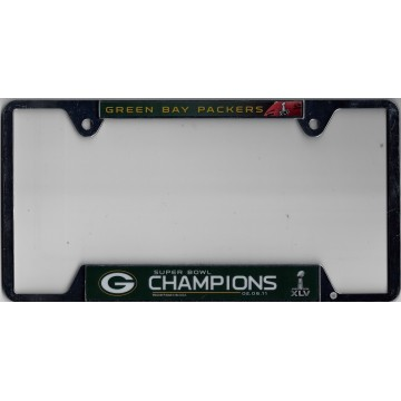 Green Bay Packers 2011 Super Bowl Champs Slim Top Frame