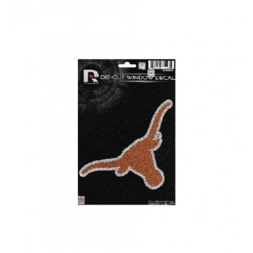 Texas Longhorns Glitter Die Cut Vinyl Decal