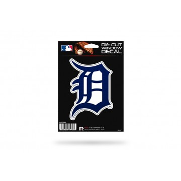Detroit Tigers Glitter Die Cut Vinyl Decal