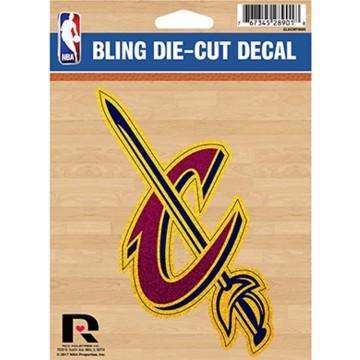 Cleveland Cavaliers Glitter Die Cut Vinyl Decal