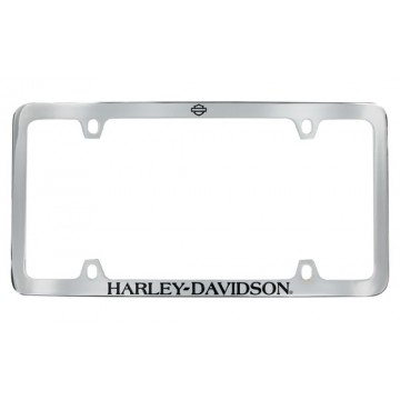 Harley-Davidson Thin Rim Bar And Shield License Plate Frame