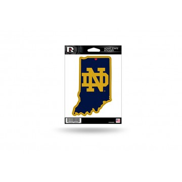 Notre Dame Fighting Irish Home State Vinyl Sticker