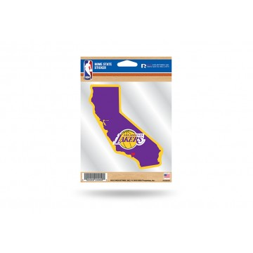 Los Angeles Lakers Home State Vinyl Sticker