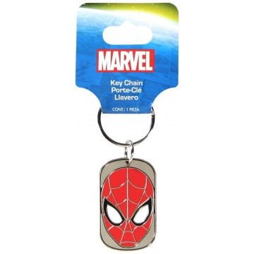 Marvel Spiderman Dog Tag Keychain