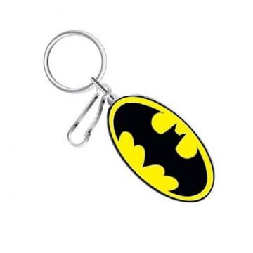 Batman Logo Enamel Keychain