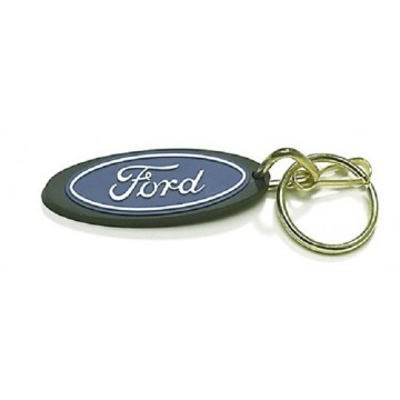 Ford Oval Rubber Keychain