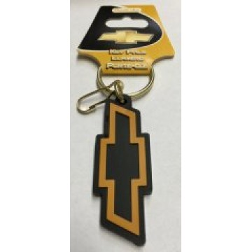 Chevrolet Bow Tie Rubber Keychain