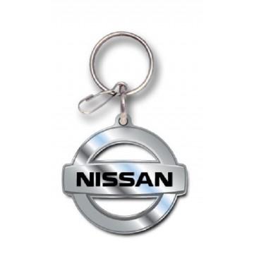 Nissan Logo Enamel Keychain