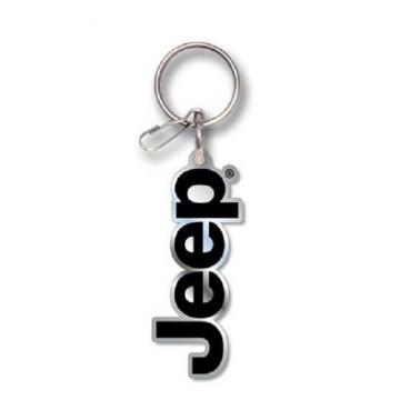 Jeep Logo Enamel Keychain