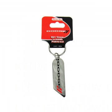 Dodge Hash Mark Stripes Keychain