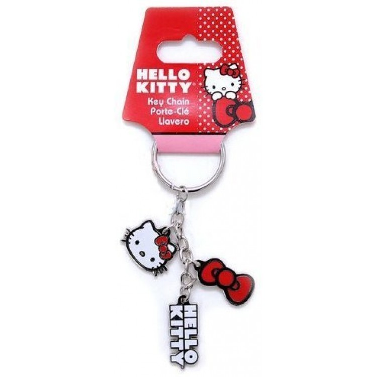 Hello Kitty Charm Keychain