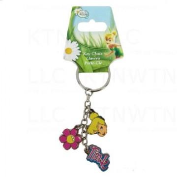 Tinkerbell Charm Keychain