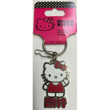 Hello Kitty Enamel Keychain
