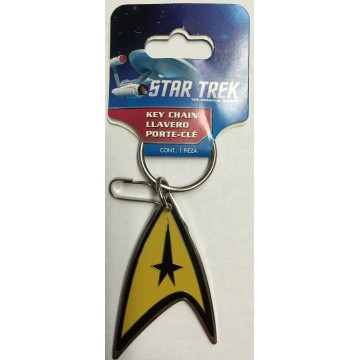 Star Trek Enamel Keychain