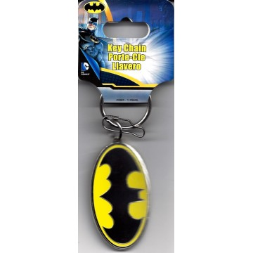 Batman Oval Metal Keychain
