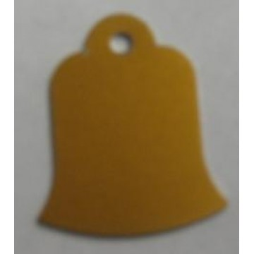 Bell Shaped Engravable Pet Identification Tags