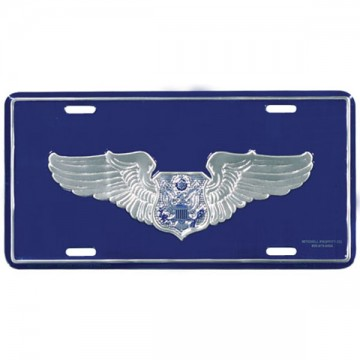 Air Force Aircrew Officer License Plate