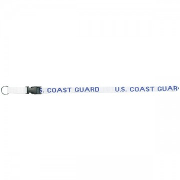 U.S. Coast Guard Lanyard With Buckle