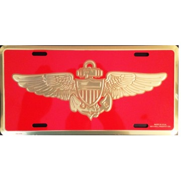 Marine Aviator License Plate