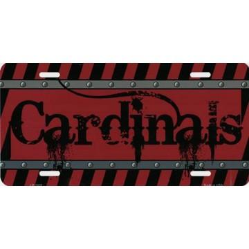 Arizona Cardinals Construction License Plate