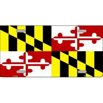 Maryland State Metal License Plate