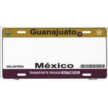 Guanajuato Mexico Look A Like Metal License Plate
