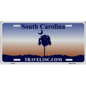 South Carolina State Look A Like Metal License Plate