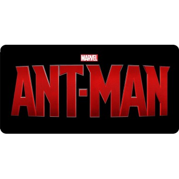 Ant Man Photo License Plate