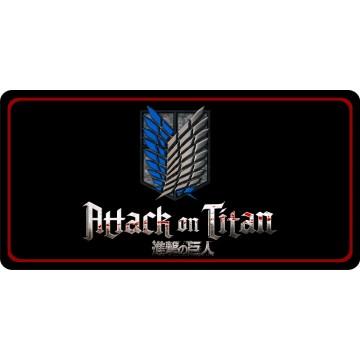 Attack On Titan Photo License Plate
