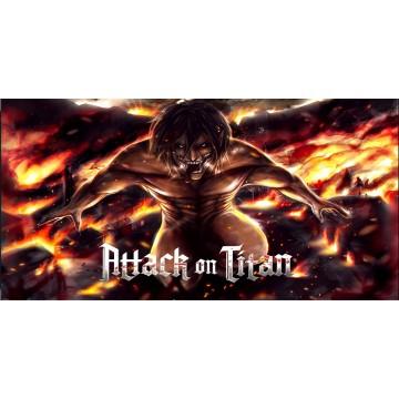 Attack On Titan Eren Photo License Plate