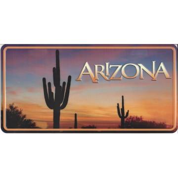 Arizona Nature Scene Photo License Plate